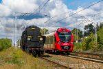 Pociągi z Ty42-107 na uroczystościach rocznicowych w Warszawie (90-lecie PKP i 150-lecie gminy Wawer)